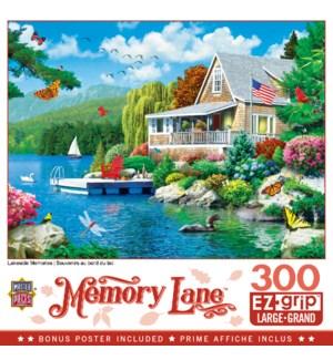 PUZZLES/300PC Memory Lane Lake