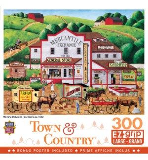 PUZZLES/300PC Town & Country