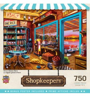 PUZZLES/750PC Henry's Store