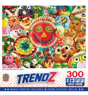 PUZZLES/300PC Funny Face Food