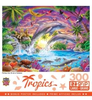 PUZZLES/300PC Tropics Isle