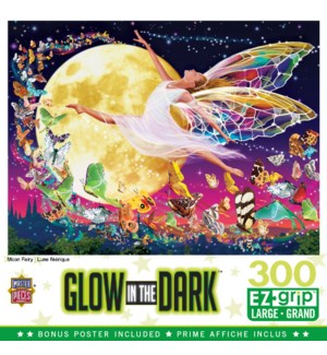 PUZZLES/300PC Moon Fairy Glow