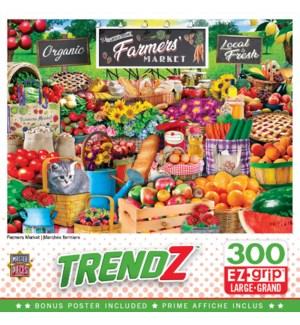 PUZZLES/300PC Farmers Market