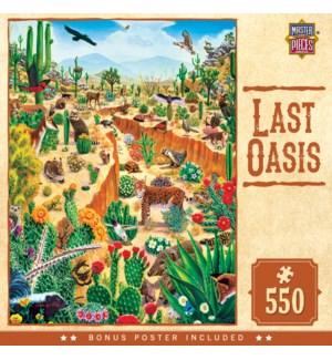 PUZZLES/550PC Last Oasis