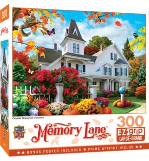 PUZZLES/300PC Memory Lane Oct