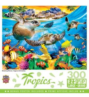 PUZZLES/300PC Tropics Waves
