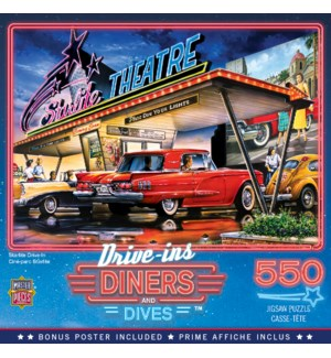 PUZZLES/550PC Drive-In