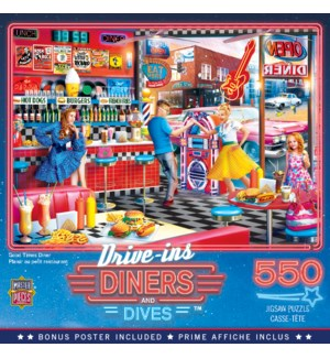 PUZZLES/550PC Good Times Diner