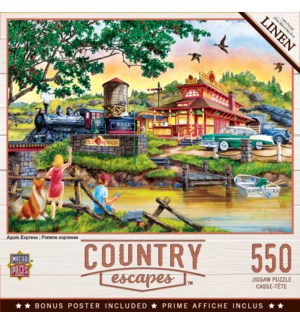PUZZLES/550PC Apple Express