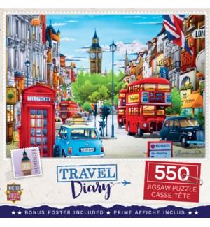 PUZZLES/550PC Travel London