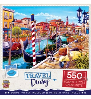 PUZZLES/550PC Travel Venice