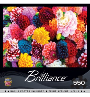 PUZZLES/550PC Beautiful Blooms