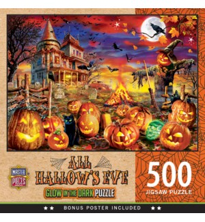 PUZZLES/500PC All Hallow's Eve