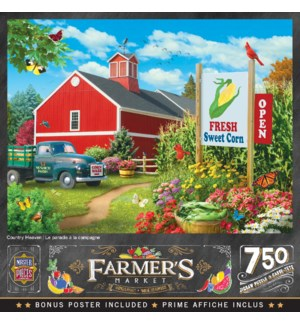 PUZZLES/750PC Country Heaven