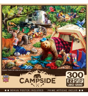 PUZZLES/300PC Campsite Trbl