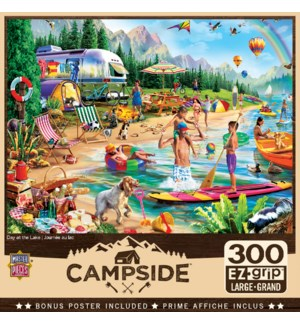 PUZZLES/300PC Day at the Lake