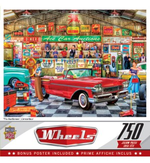 PUZZLES/750PC The Auctioneer