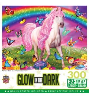 PUZZLES/300PC Rainbow World
