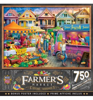 PUZZLES/750PC Weekend Market