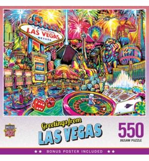 PUZZLES/550PC Las Vegas