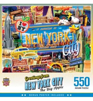 PUZZLES/550PC New York City