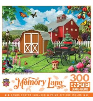 PUZZLES/300PC Memory Lane Barn
