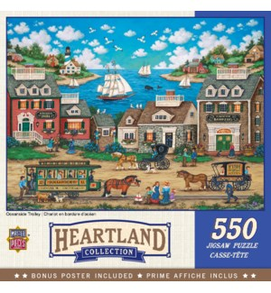 PUZZLES/550PC Oceanside Trlly