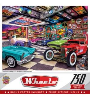 PUZZLES/750PC Wheels-Garage