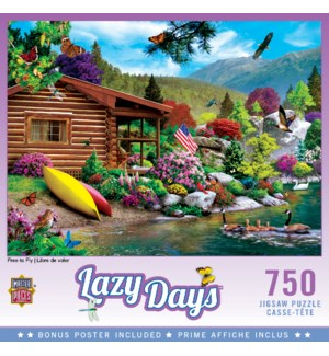 PUZZLES/750PC Free to Fly