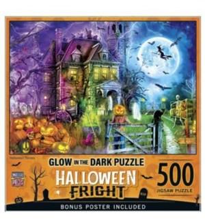 PUZZLES/500PC HalloweenTerrors