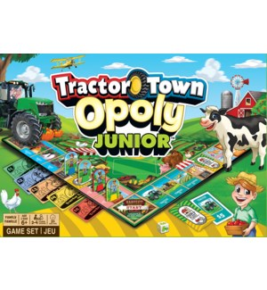 GAMES/Tractor Town Opoly Jr