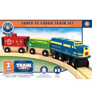 TRAIN/Lionel Wood Train Set