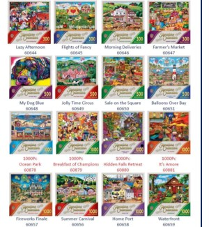 PUZZLES/16 Signat Collection