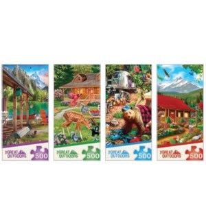 PUZZLES/500PC Great Outdoors