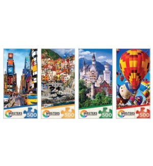 PUZZLES/500PC Masters of Photo