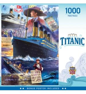 PUZZLES/1000PC Titanic