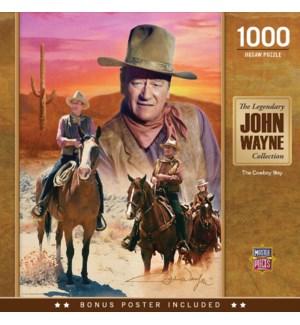 PUZZLES/1000PC Cowboy Way