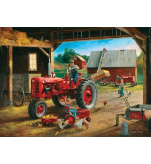PUZZLES/1000PC Farmall Friends