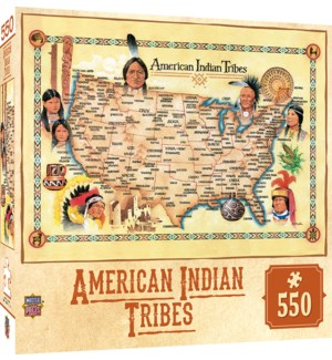 PUZZLES/550PC Indian Tribes