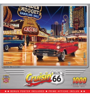 PUZZLES/1000PC Gamblin Man