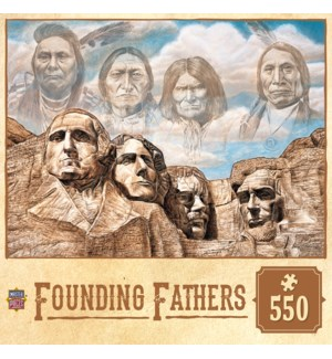 PUZZLES/550PC Founding Fathers