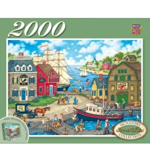 PUZZLES/2000PC Seagull Delight