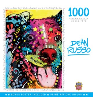 PUZZLES/1000PC DRusso Good Boy