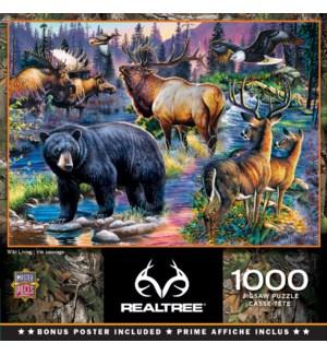 PUZZLES/1000PC Wild Living
