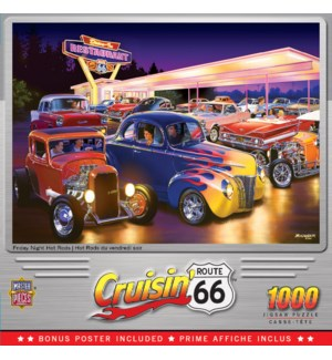 PUZZLES/1000PC Hot Rod's
