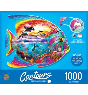 PUZZLES/1000PC Tropical Fish