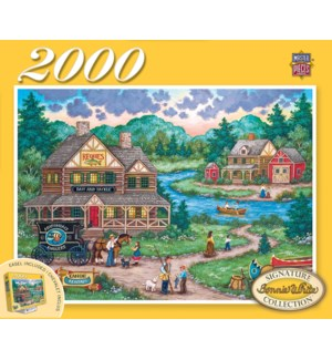 PUZZLES/2000PC Anglers