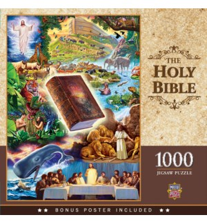 PUZZLES/1000PC The Holy Bible
