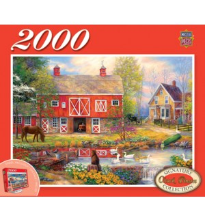 PUZZLES/2000PC Country Living