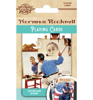 PLAYINGCARDS/Norman Rockwell